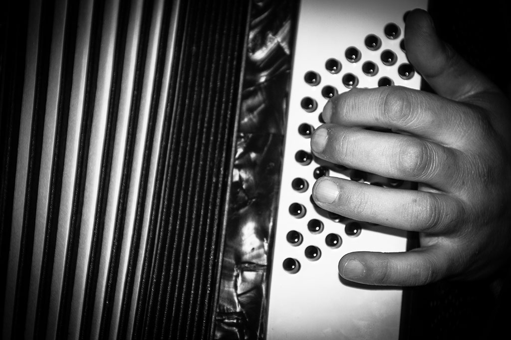 Accordian playing Bristol.